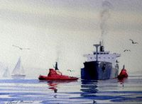 Click to visit Marine Art Gallery
