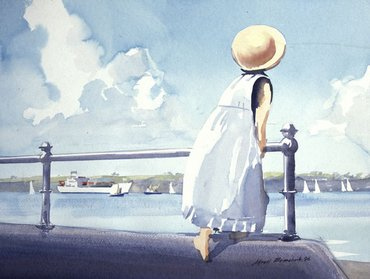 Watercolour lessons and worshops